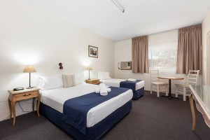 Gulgong Motel Renovated Queen & Single Room
